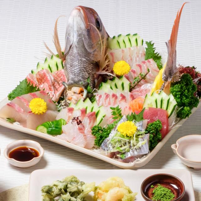 萩焼(伝統的工芸品)タタラ特大皿のイメージ
