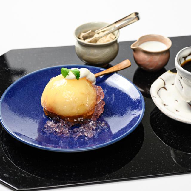 萩焼(伝統的工芸品)平皿のイメージ