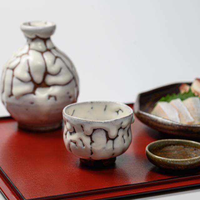 萩焼(伝統的工芸品)ぐい呑のイメージ