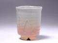 萩焼(伝統的工芸品)小湯呑姫萩筒細ヘラメ