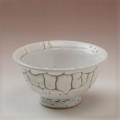 萩焼(伝統的工芸品)小鉢鬼白松朝顔