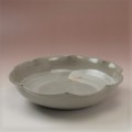 萩焼(伝統的工芸品)平鉢刷毛青輪花