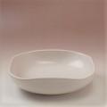 萩焼(伝統的工芸品)平鉢白姫四方