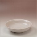 萩焼(伝統的工芸品)平鉢中白姫朝顔
