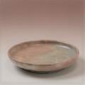 萩焼(伝統的工芸品)銘々皿御本手丸