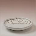 萩焼(伝統的工芸品)小皿鬼白松丸