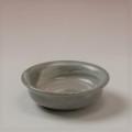 萩焼(伝統的工芸品)豆皿刷毛青朝顔