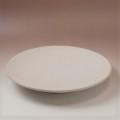 萩焼(伝統的工芸品)特大皿白姫丸