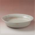 萩焼(伝統的工芸品)水盤刷毛姫荒端反