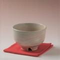 萩焼(伝統的工芸品)抹茶碗刷毛姫荒半筒