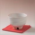 萩焼(伝統的工芸品)抹茶碗白姫端反