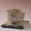 萩焼(伝統的工芸品)抹茶碗特御本手半筒