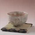 萩焼(伝統的工芸品)抹茶碗特御本手胴締