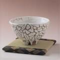 萩焼(伝統的工芸品)抹茶碗極上大鬼白荒松井戸形猪口十字割高台