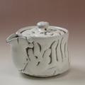 萩焼(伝統的工芸品)煎茶急須鬼白松筒雀口