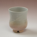 萩焼(伝統的工芸品)湯呑刷毛姫胴締