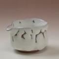 萩焼(伝統的工芸品)湯冷まし小鬼白筒