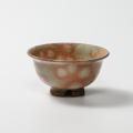 萩焼(伝統的工芸品)飯碗極小御本手朝顔