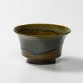 萩焼(伝統的工芸品)どんぶり小鉄青釉端反