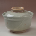 萩焼(伝統的工芸品)蓋付どんぶり刷毛姫丸