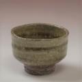 萩焼(伝統的工芸品)ぐい呑緑釉筒