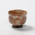 萩焼(伝統的工芸品)ぐい呑御本手丸