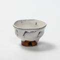 萩焼(伝統的工芸品)ぐい呑鬼白竹柿蒂