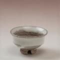 萩焼(伝統的工芸品)ぐい呑白萩掛分け柿の蒂