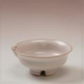 萩焼(伝統的工芸品)盃白姫朝顔片口