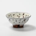 萩焼(伝統的工芸品)盃鬼白松丸
