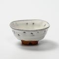 萩焼(伝統的工芸品)盃鬼白竹丸