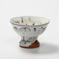 萩焼(伝統的工芸品)馬上盃鬼白松丸