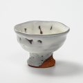 萩焼(伝統的工芸品)馬上盃鬼白竹丸
