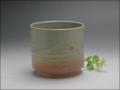 萩焼(伝統的工芸品)フラワーポット刷毛姫筒