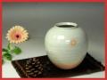 伝統的工芸品萩焼・花入刷毛姫丸小・簡易包装対応