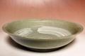 萩焼(伝統的工芸品)平鉢刷毛青朝顔