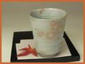 萩焼(伝統的工芸品)タンブラー御本手筒