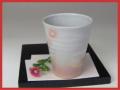 萩焼(伝統的工芸品)タンブラー刷毛姫筒小
