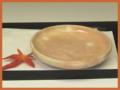 萩焼(伝統的工芸品)小皿御本手丸