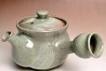 萩焼(伝統的工芸品)急須刷毛青丸鉄砲口