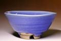 萩焼(伝統的工芸品)抹茶碗青釉平