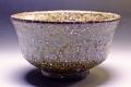 萩焼(伝統的工芸品)抹茶碗緑釉荒端反