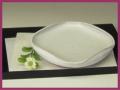 萩焼(伝統的工芸品)銘々皿白萩四方
