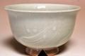 萩焼(伝統的工芸品)汁碗刷毛姫丸