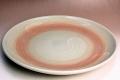 萩焼(伝統的工芸品)特大皿刷毛姫丸