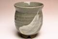萩焼(伝統的工芸品)湯呑刷毛青丸