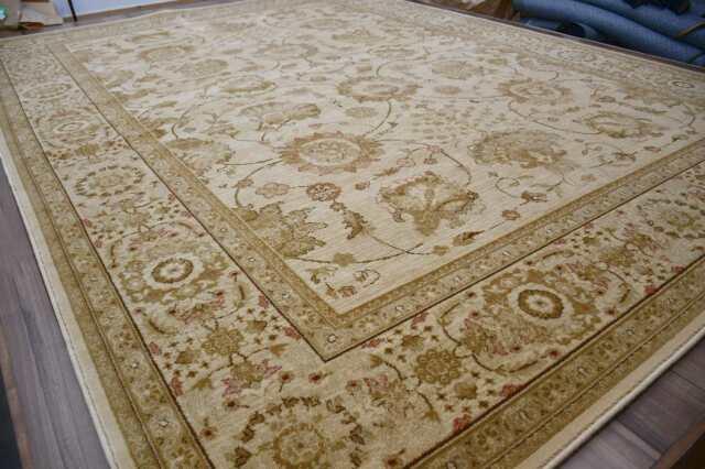 激レア ウール絨毯 カーペット 6畳 240×340cm ラグ ベルギー じゅうたん アンティーク クラシック アウトレット 【品名 特価 ロイヤルアンティーク】 約6畳 240×340cm
