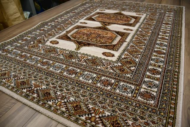絨毯 ラグ 3畳 160×230 ウール カーペット ベルギー アンティーク ヴィンテージ オリエンタル 厚手 安い 激安 通販 販売 【品名 ウール柄込/A】 約3畳 160×230cm