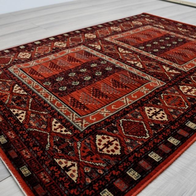絨毯 ラグ 134×190 1.5畳 ウール カーペット ベルギー アンティーク ヴィンテージ オリエンタル 厚手 安い 激安 通販 販売 【品名 ウール柄込】 約1.5畳 134×190cm