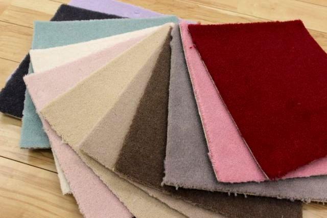 廊下敷き絨毯 じゅうたん 高機能ウール100%レベルカット 【ボン2】 幅75×長さ340cm